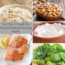 top 5 foods for breastfeeding pumping moms u2013 aloo