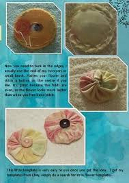 175 best yoyo u0027s images on pinterest fabric flowers crafts and