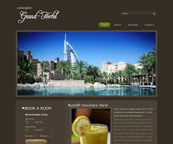 12 free hotel html website templates templatemag