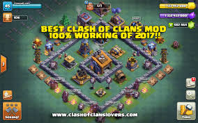mod apk clash of clans hacks mod apk with builder base 2018