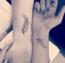 feather tattoo on wrist in 2017 real photo pictures images and
