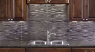 The Best Backsplash Materials For Kitchen Or Bathroom - Metal backsplash