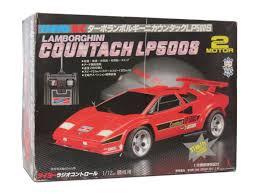 toy lamborghini taiyo lamborghini countach lp500s 1987 r c toy memories