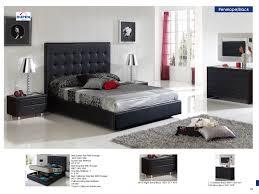 bedroom black and white bedroom set modern bed frames grey
