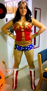 Wonder Woman Costume Mostly Diy Modern Wonder Woman Costume