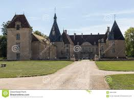 chateau french countryside stock photo image 59840208