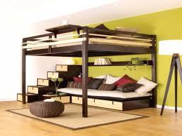 mezzanine canape canapé canapé lit 2 places lit 2 places avec emejing lit