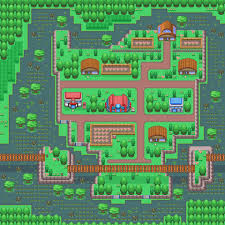 Rock Tunnel Leaf Green Map Flora Sky Region Pokemon Flora Sky