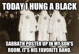 Black Sabbath Memes - today i hung a black sabbath poster up in my son s room it s his