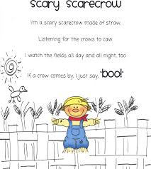 the busy kindergarten october poems for poetry box