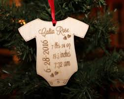 1st Christmas Decorations Baby First Christmas Etsy