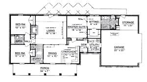 ranch home floor plans 4 bedroom large ranch home floor plans ranch by homes texas ranch style home