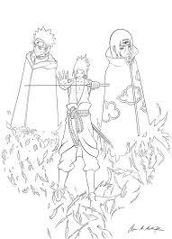 sasuke itachi naruto lineart by wosuko san on deviantart