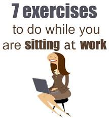 leg exercises at desk 7 exercises while sitting down at work or at home