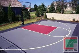 Sports Courts For Backyards Outdoor Courts For Sport Backyard Basketball Court Gym Floors
