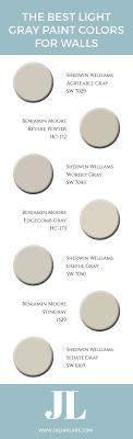 best benjamin moore colors the best light gray paint colors for walls jillian lare des