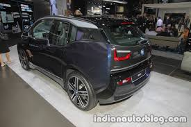 2018 bmw i3 rear three quarters at iaa 2017 indian autos blog
