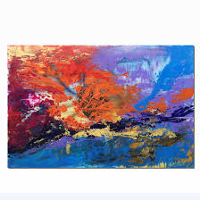 kitchen artwork modern abstract painting oil painting large wall art large abstract