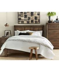 King Platform Bed Set Avondale King Platform Bed Furniture Macy S
