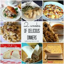 2 weeks of delicious dinners recipe features from the what u0027s