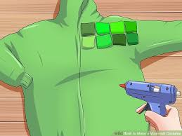 minecraft costume how to make a minecraft costume with pictures wikihow