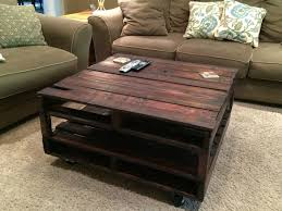 Hokku Designs Coffee Table Coffee Table Wood Pallet Coffee Table First Attempt Album On