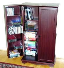 buy dvd storage cabinet dvd and cd storage furniture storage unit black cabinet glass door