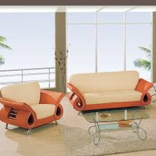 Orange Sofa Bed by Sofas Orange Sofa As Cheerful Furniture Cheerful Atmosphere