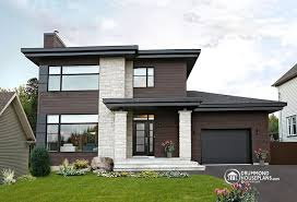 contemporary homes plans contemporary modern house plan no 3713 v1 drummond house modern