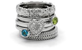 mothers rings stackable stackable mothers rings stacking sterling silver mothers rings