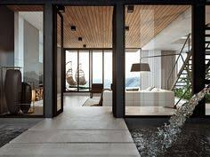 Modern Home Interior Design Arranged With Luxury Decor Ideas Looks - Contemporary homes interior designs