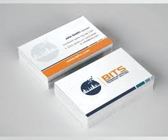 It Support Manager Modern Professional Business Card Design For James Lemon By Wall