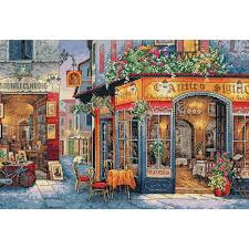 dimensions gold counted cross stitch kit european bistro