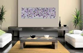 Purple Nursery Wall Decor Lavender Wave By Qiqigallery 36 X 12 Original Colorful Abstract