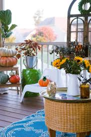 cozy and colorful fall porch decorating the home i create