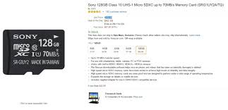 amazon black friday samsung sd carx great amazon deals sony 128gb microsd card for just 43 and more