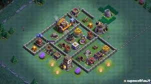 coc village layout level 5 12 best layouts bh5 for builder base level 5 without traps