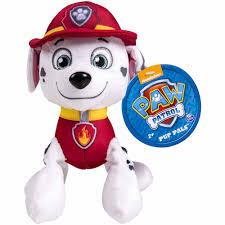 halloween dog toys nickelodeon paw patrol plush pup pals marshall walmart com