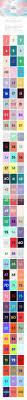 color trend 2016 2017 web design pinterest ui ux ui ux