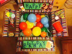 birthday care package 21st birthday money cake crafty gifts