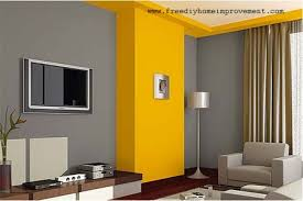 wall paint colors gray with yellow painted accent walls and trim looks fabulous