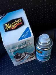 air freshener new car smell meguiar s whole car air re fresher odor eliminator review demo