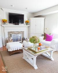 Decorating My Home Finding Fall Home Tour 2015 In My Own Style