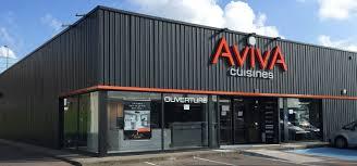 magasin cuisine aviva cuisines ouvre 1er magasin franchisé dans la région