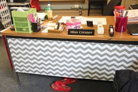 create cook teach fantastic in 5th chevron style