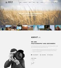 Photographers Websites 70 Best Photography Website Templates Free U0026 Premium Freshdesignweb