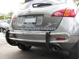 nissan murano nudge bar vanguard 09 14 murano rear bar bumper protector guard double tube