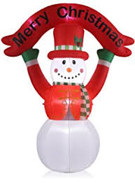 Outdoor Christmas Decorations Palm Tree by Amazon Com Gemmy Inflatable Airblown Huge 8 U0027 Christmas Palm Tree