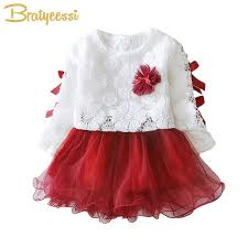 flower bow aliexpress buy 2pcs set lace baby dress flower bow autumn