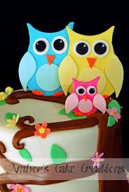 amber u0027s cake creations owl baby shower